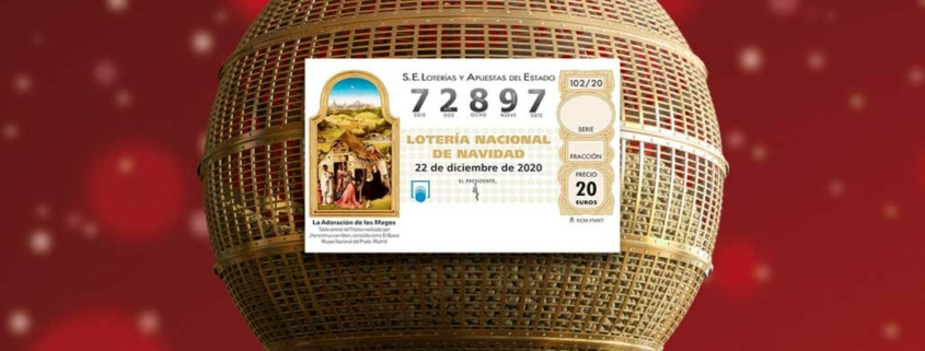 Boleto ganador lotería Gordo 2020